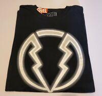 "MARVEL Inhumans ""BLACK BOLT"" Logo T-Shirt Black Sz 2XL NEW w/ TAGS"