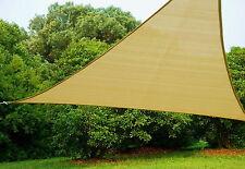 Telo ombreggiante giardino Triangolo Vela mt 5x5x5 ecru