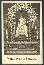 Postal antigua Virgen de la Bonanova andachtsbild santino holy card santini