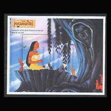 Guyana, Sc #2990, MNH, 1995, S/S, Disney, Pocahontas, FDHI-9