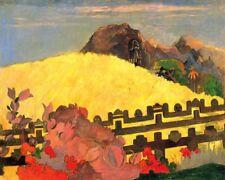 'La Montagna Sacra quadro - Stampa d''arte su tela telaio in legno'