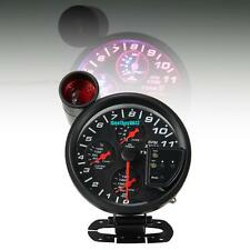 4 in 1 11K RPM Oil Pressure Car Tachometer Water Oil Temp Gauge With Shift Light