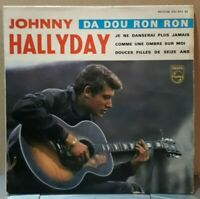 EP 45 t /  johnny hallyday - Da Dou Ron Ron (432933 BE) 1963