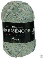 400g Grousemoor Aran - Pine Fleck - 25% Wool Quality Yarn