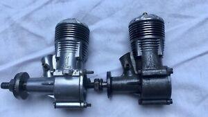 2x Aero Model Engines Frog 500