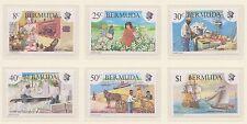 (ZF-49) 1981 Bermuda 6set heritage week 8c to $1 MUH