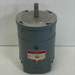 General Electric 5BCD56ED323 D-C Motor 1/3 HP 115 V 1750 RPM