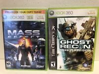 Mass Effect (Bonus Content Disc) (Microsoft Xbox 360 NEW SEALED With Ghost Recon