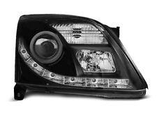 Paire de feux phares Opel Vectra C 02-05 Daylight led noir P76