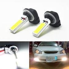 2x 881 886 894 898 H27W Car COB LED Light Fog Lamp Driving Bulb HID 6000K White