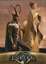 MARVEL'S THOR: MOVIE BASE SET TRADING CARD #10 Thor's mother, Frigga, and Loki