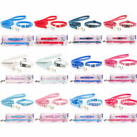 Ancol Puppy Small Dog Collar & Lead Set Small Bite Adjustable 20-30cm 12 Designs