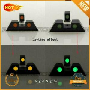 Glock Factory OEM Night Sights 17 19 22 23 24 26 27 33 34 35 Front and Rear SET