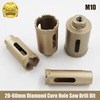 M10 Diamond Drill Core Bits Hole Saw Drilling Granite Marble Ceramic 20mm-60mm