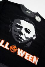 Michael Myers Halloween Sweater pullover horror NEW Men XS