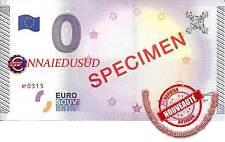 Billet Touristique 0 Euro 2015 - Billet Specimen