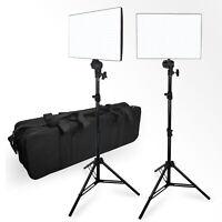 2 Pack Photo Studio Photography LED Photo Video Light Panel Lighting Kit