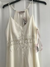 Forever21 Cream Dress Party Wedding Size L