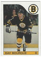 1985-86 TOPPS HOCKEY #40 RAY BOURQUE - EXCELLENT-