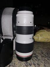 Canon EF 70-200 mm F/2.8L IS USM II Telephoto Lens