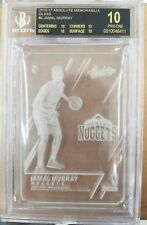 16-17 Absolute Glass RC Jamal Murray Rookie CASE HIT! BGS 10 BLK LABEL! POP 1!