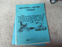 KARNOV data east   arcade game manual