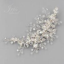 Bridal Hair Clip Pin Comb Crystal Headpiece Headband Wedding Accessory J6163 S
