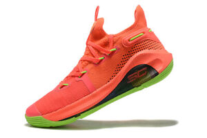 2021 Men's Under Armour Curry 6 Training Basketball Shoes Size China trip US7-12