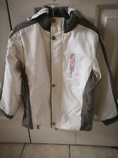Girl White Winter Insulated Jacket 20 x 15 Inch Very Nice Condition