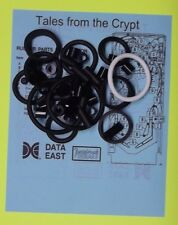 1993 Data East Tales from the Crypt pinball rubber ring kit TFTC