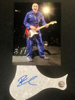 GENUINE HAND SIGNED PETE TOWNSEND GUITAR PICK GUARD