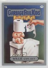 2011 Topps Garbage Pail Kids Flashback Series 3 Silver #24a Willie Wipe-out 0a1