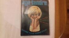 hallyday j . AGE TENDRE ET TETE DE BOIS n°13 1964 (fin r10)