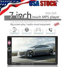 7 '' Double 7023B 2 DIN Car FM Stereo Radio MP5 Player TouchScreen Blue-tooth US