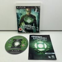 Green Lantern Rise Of The Manhunters (PS3) Sony Playstation 3 Complete Manual