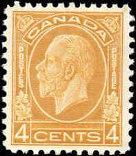 Mint NH Canada 1932 VF Scott #198 4c King George V Medallion Stamp