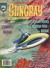 STINGRAY COMIC NUM 2 1992 WITH FREE GIFT BADGE GERRY ANDERSON ITC