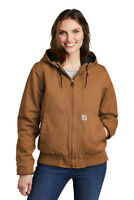 Carhartt® Women's Washed Duck Active Jacket, #-104053, Size M