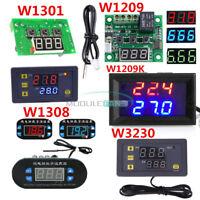 W1301 W1209/WK W1308 W3230 DC 12V Thermostat Temperature Control Switch Sensor