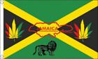 JAMAICA REGGAE( JAMAICAN ) FLAG 5ft X 3ft