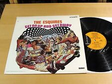 Soul THE ESQUIRES Get On Up And Get Away BUNKY BS-300 Stereo NM!