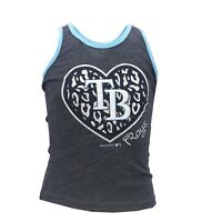 Tampa Bay Rays MLB Genuine Kids Youth Girls Size Tank Top Shirt New with Tags