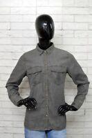 Camicia PULL & BEAR Donna Taglia Size L Cotone Shirt Jeans Woman PARI ALNUOVO