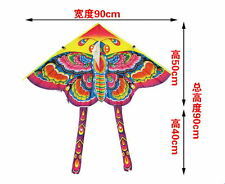 Children's Toy 50-CM Outdoor Fun Sports Printed Long Tail Butterfly Kite 9O