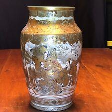 Superb Antique Hand Painted Japanese Satsuma Meiji Period Satsuma Vase