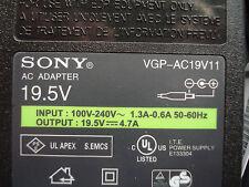 OEM SONY 90W Charger VGP-AC19V14 VGP-AC19V19 VGP-AC19V20 VGP-AC19V21 VGP-AC19V11