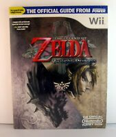 New Wii Zelda Twilight Princess Nintendo Players Strategy Guide & Rare Music OST