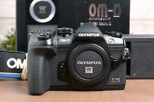Olympus OM-D E-M1 Mark III 20.4MP Mirrorless Camera - Black (Body Only)