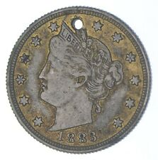 1883 'NO Cent' Liberty V Nickel - Tough - First Year Issue *911