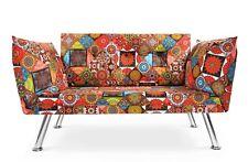 Sofa 2 Sitzer mit Schlaffunktion Klein Schlafsofa Zweisitzer 2er Couch Sessel